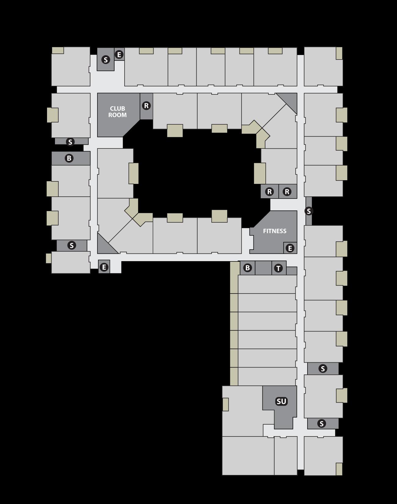 Site Plan Level 2 Base