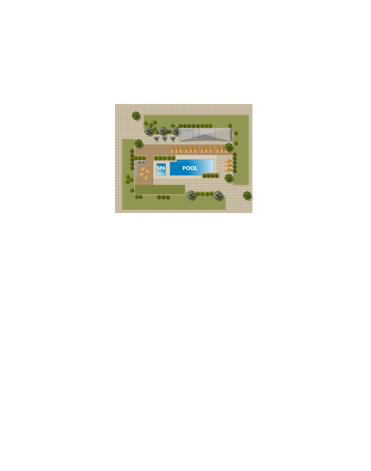 Site Plan Pool