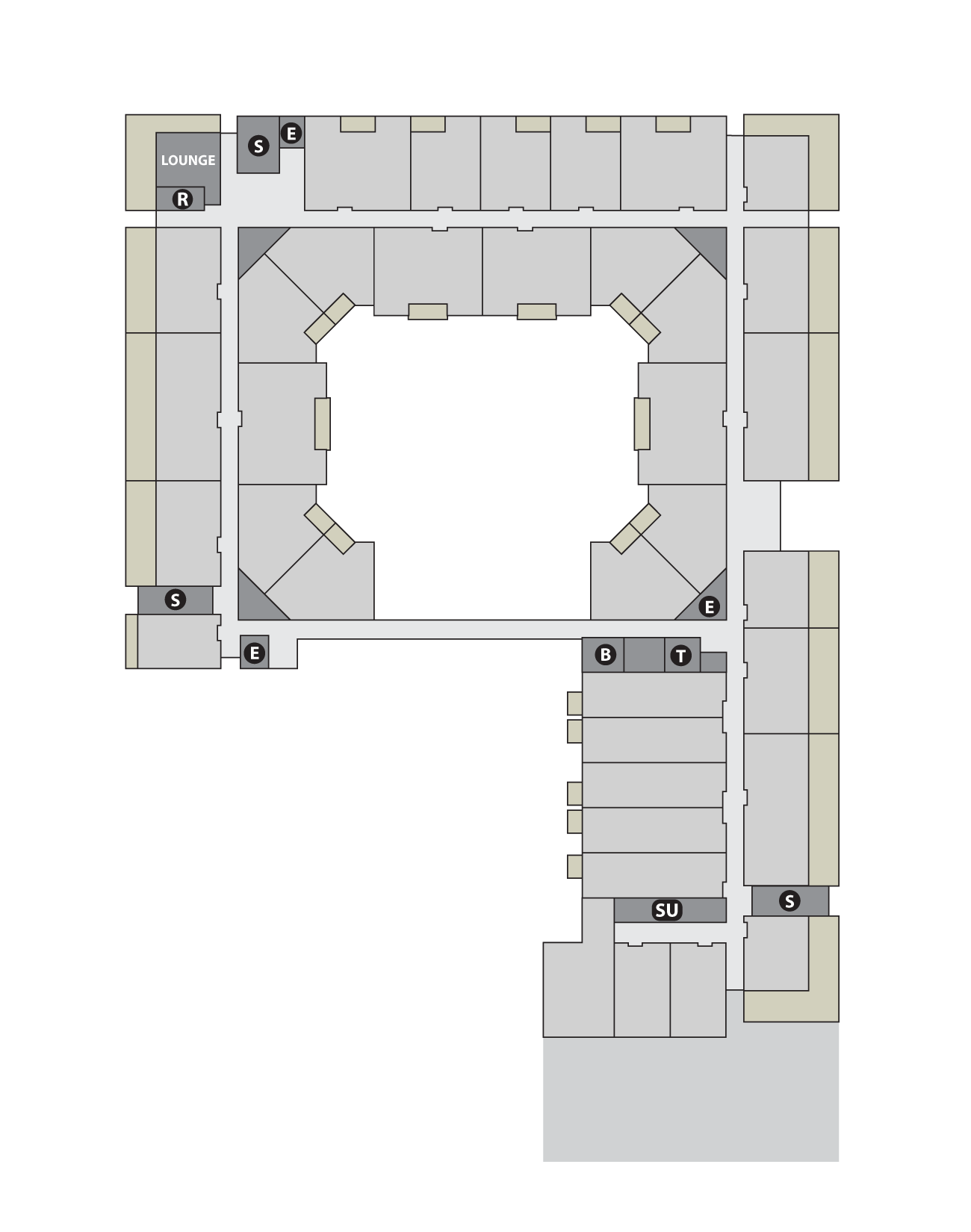 Site Plan Level 5 Base