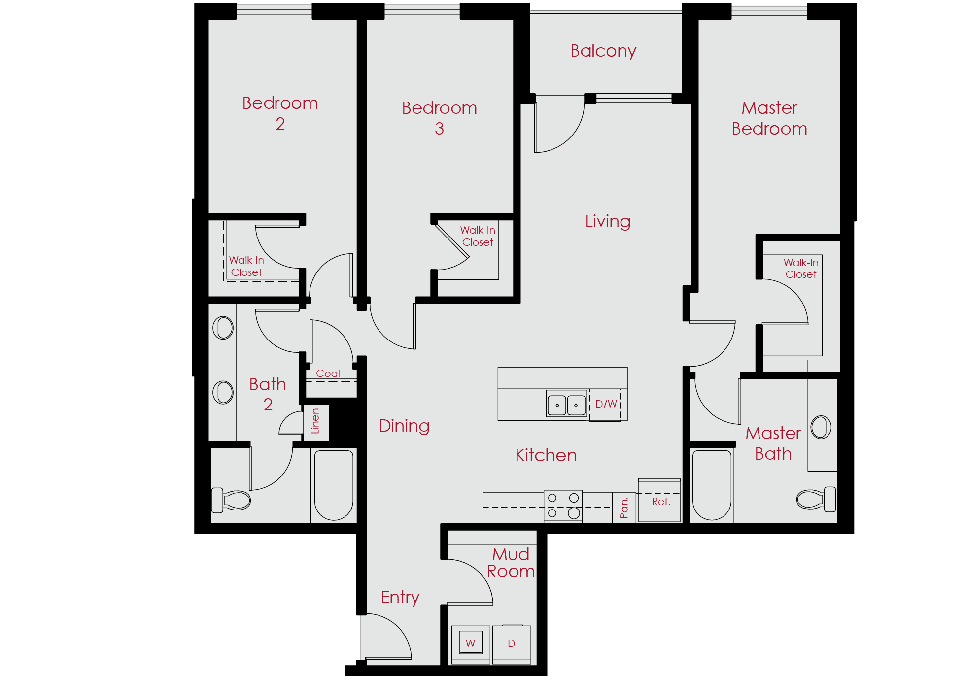 Luxury 1 3 Bedroom Apartments for Rent in Denver CO