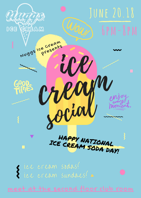 ice cream social, venue on 16th, social party, ice cream, things to do in denver